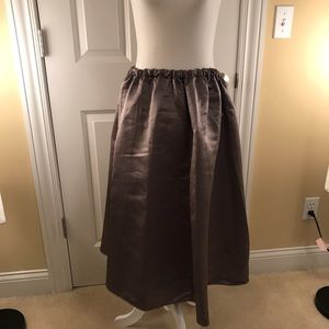 Urban Outfitters M olive green silk skirt